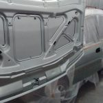Процесс пескоструйной обработки кузовов и деталей