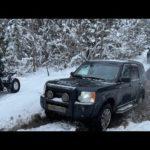Обновлённый Prado, Discovery 3, Hover H3 и Девушка на Pajero Sport 3) выпало много снега)